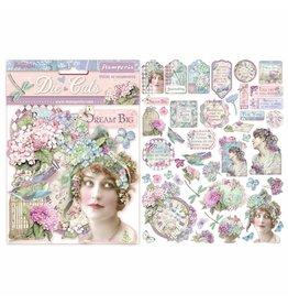 Stamperia Die cuts assorted - Hortensia