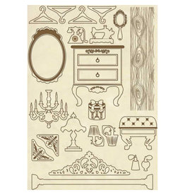Stamperia Wooden frame A5 - Furniture items
