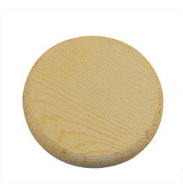 Stamperia Round plate ø8,5 wood