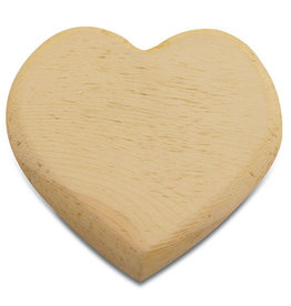 Stamperia Heart shape platen12x10,5 cm H wood