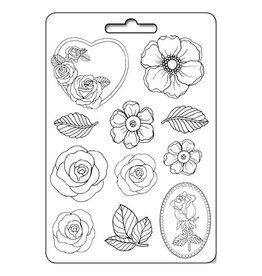 Stamperia Soft Mould A4 - Roses