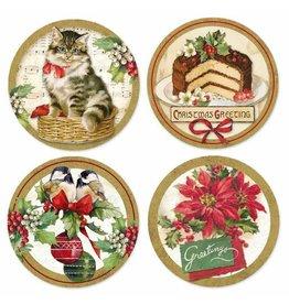 Stamperia Adhesive paper 21x21 Christmas Vintage
