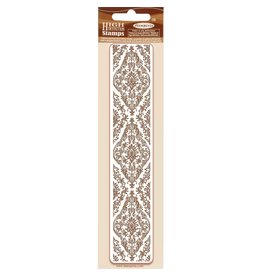 Stamperia HD Natural Rubber Stamp  cm. 4x18 Tapestry