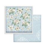 """Stamperia Block 10 Sheets 20.3X20.3  (8""""X8"""") Double Face Winter Tales"""