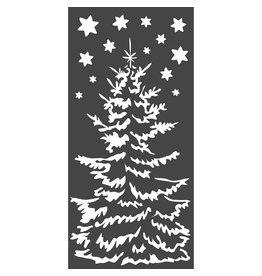 Stamperia Thick stencil cm. 12X25 Christmas tree