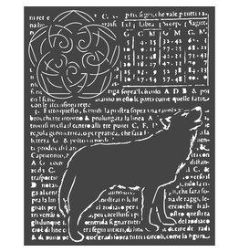 Stamperia Thick stencil cm. 20X25 Wolf