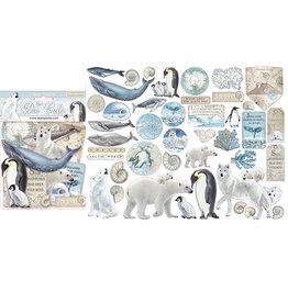 Stamperia Die cuts assorted - Arctic Antarctic