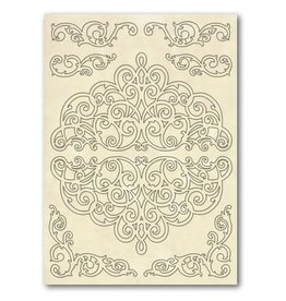 Stamperia Wooden frames A5 size - Lazes and Friezes
