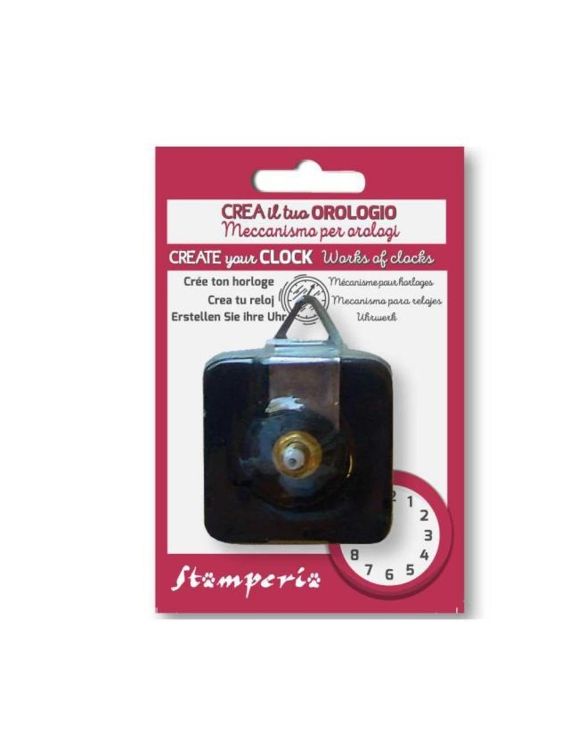 Stamperia Clockwork mechanism cm. 5.5 x5.5h