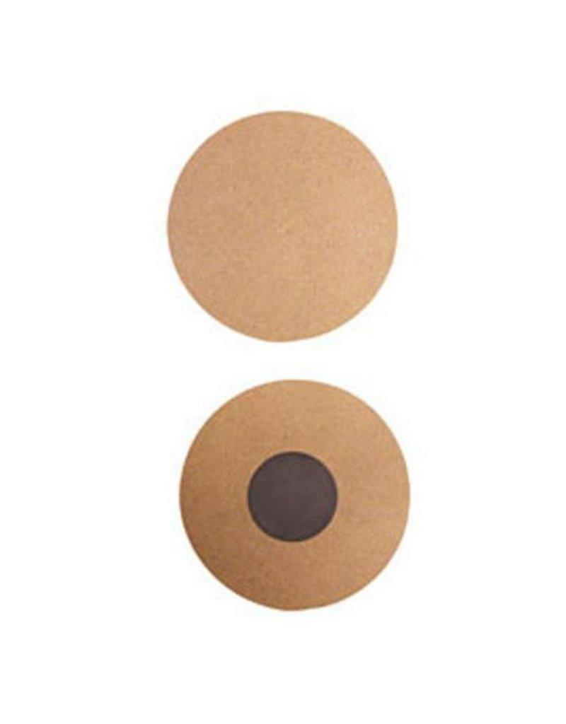Stamperia 2 round Magnets - size cm 6,5 MDF