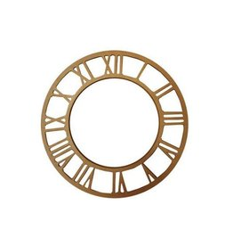 Stamperia Plate with clock numbers dial 21,5 MDF