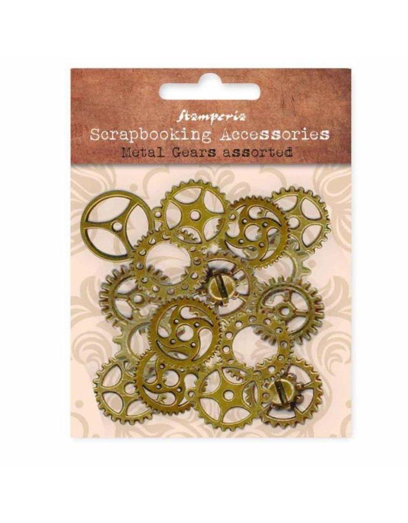 Stamperia Assorted metal gears big size