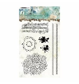 Studio Light Studio Light • Clear stamp A6 Jenine's mindful art nr,03