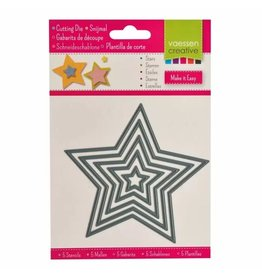 Vaessen Creative Vaessen Creative • Snijmal sterren