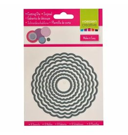 Vaessen Creative Vaessen Creative • Snijmal circles schulp