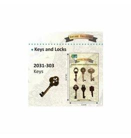Vaessen Creative Vaessen Creative • Vintage Keys 6pcs
