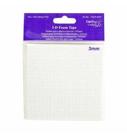 Vaessen Creative Vaessen Creative • 3D Foam pads 5x5x3mm 400pcs