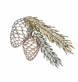 Tim Holtz · Ranger Sizzix • Thinlits die set Pine branch