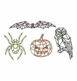 Sizzix Sizzix • Thinlits die set Geo halloween