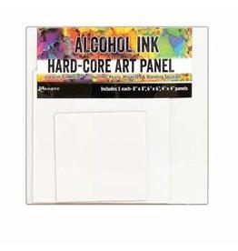 Tim Holtz · Ranger Ranger • Tim Holtz alcohol ink hard-core art panel