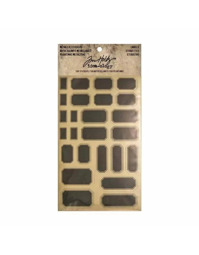 Tim Holtz · Advantus Advantus • Tim Holtz Idea-ology metallic stickers labels