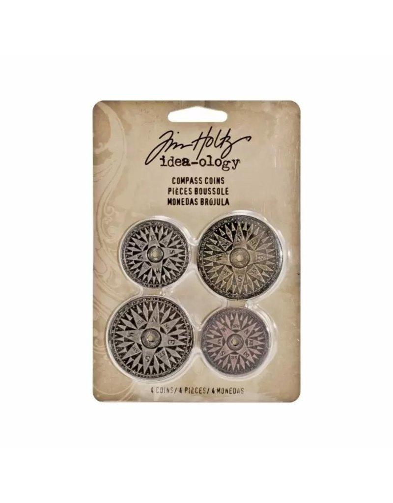 Tim Holtz · Advantus Advantus • Idea-ology Compass coins