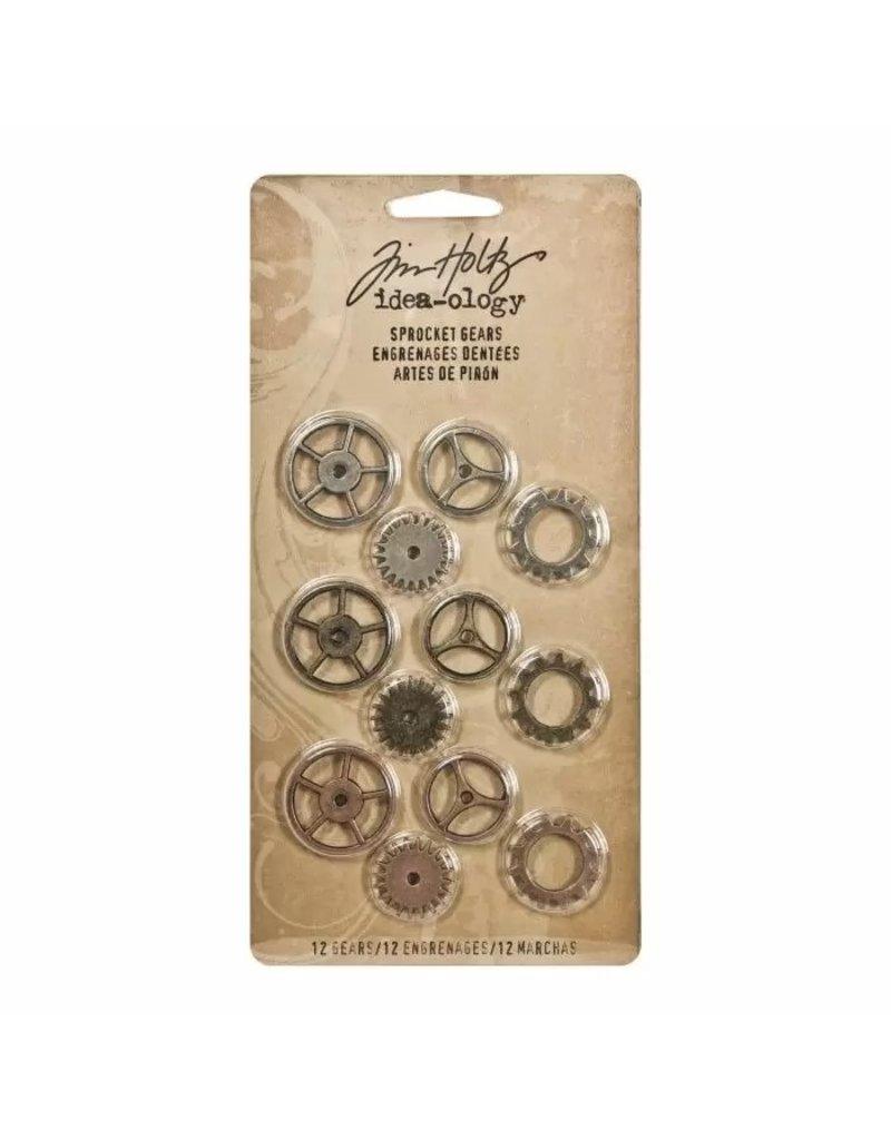 Tim Holtz · Advantus Advantus • Idea-ology Sprocket gears antique