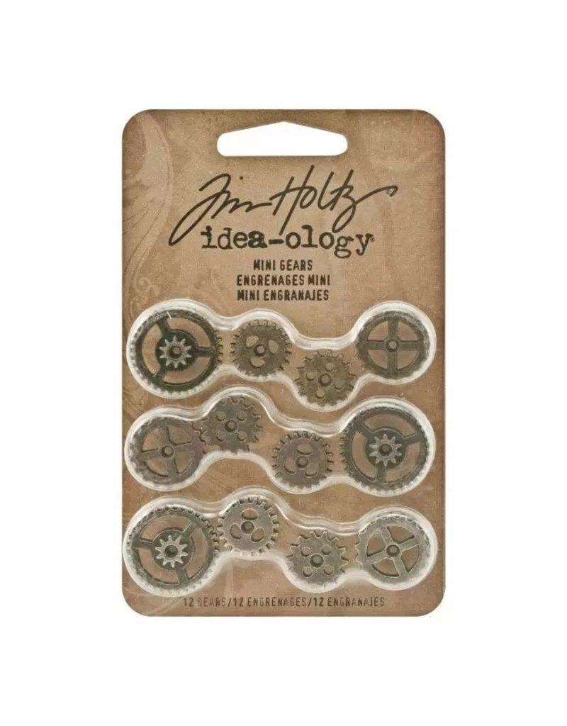 Tim Holtz · Advantus Advantus • Idea-ology Mini gears antique 12[cs