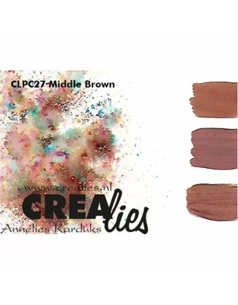 Crealies Crealies • Pigment Colorzz Middenbruin