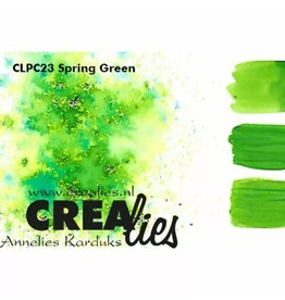 Crealies Crealies • Pigment Colorzz Lentegroen