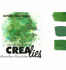 Crealies Crealies • Pigment Colorzz Olijfgroen