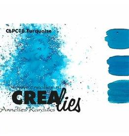 Crealies Crealies • Pigment Colorzz Turquoise