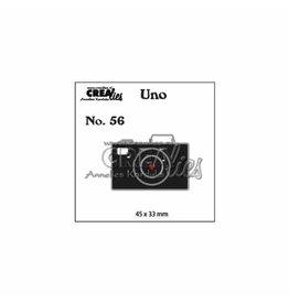 Crealies Crealies • Uno snijmal no.56 camera
