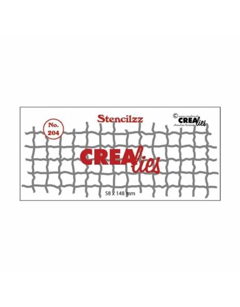 Crealies Crealies • Stencilzz no.204 mesh