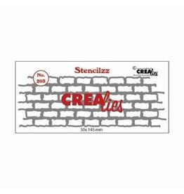 Crealies Crealies • Stencilzz no.203 stones