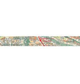 Stamperia Deco tape cm. 1,5x10m - Maps