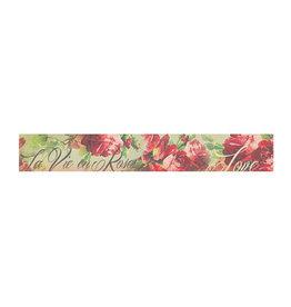 Stamperia Deco tape cm. 3x5m - Red roses