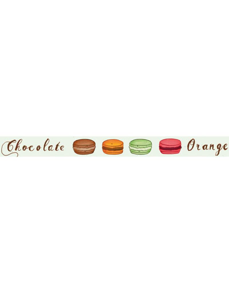 Stamperia Deco tape cm. 1x10m Chocolate