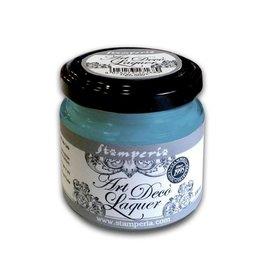 Stamperia Art Déco Laquer - acrylic enamel 100ml Blue powder