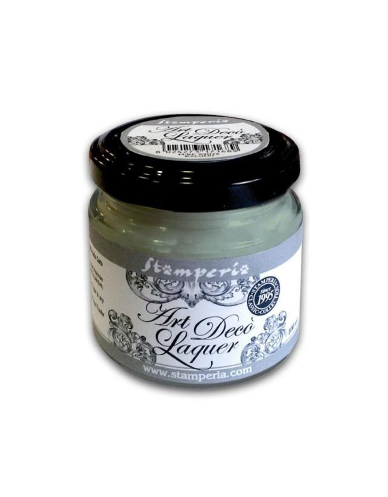 Stamperia Art Déco Laquer - acrylic enamel 100ml Sage green