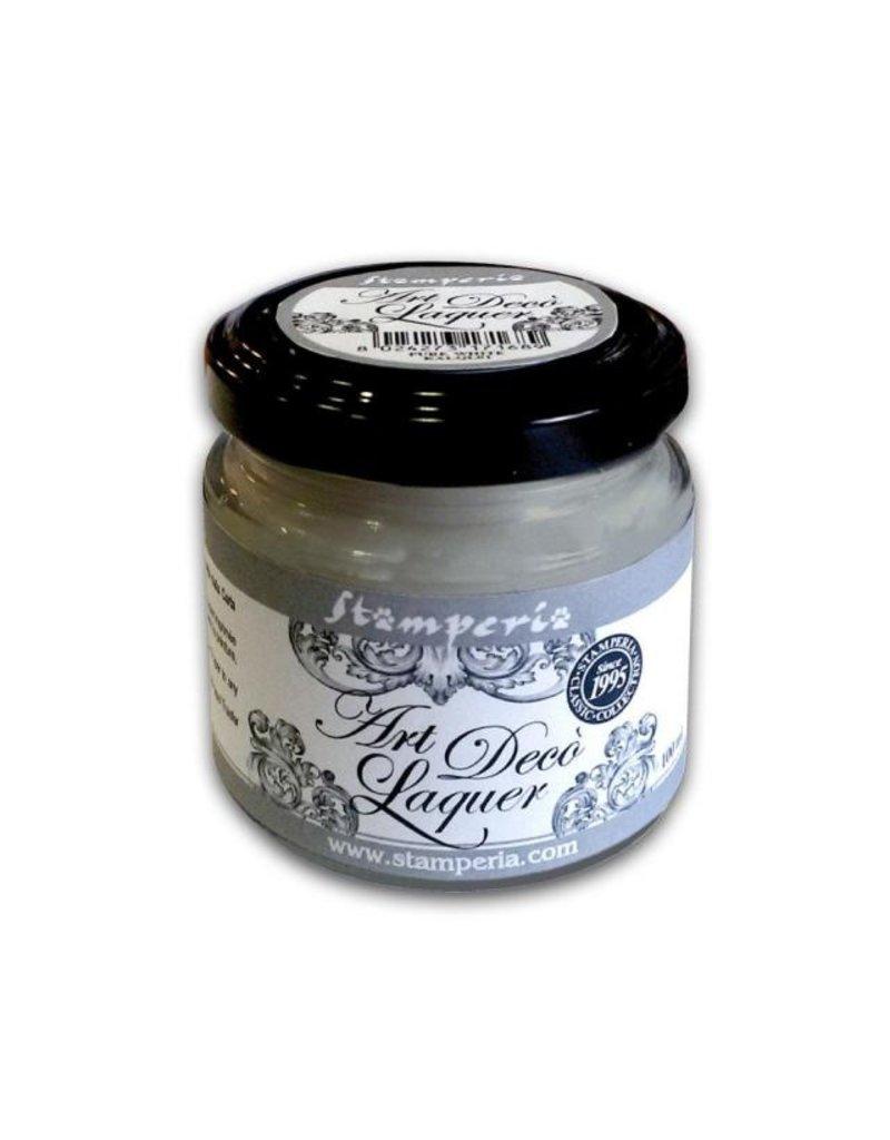 Stamperia Art Déco Laquer - acrylic enamel 100ml Grey