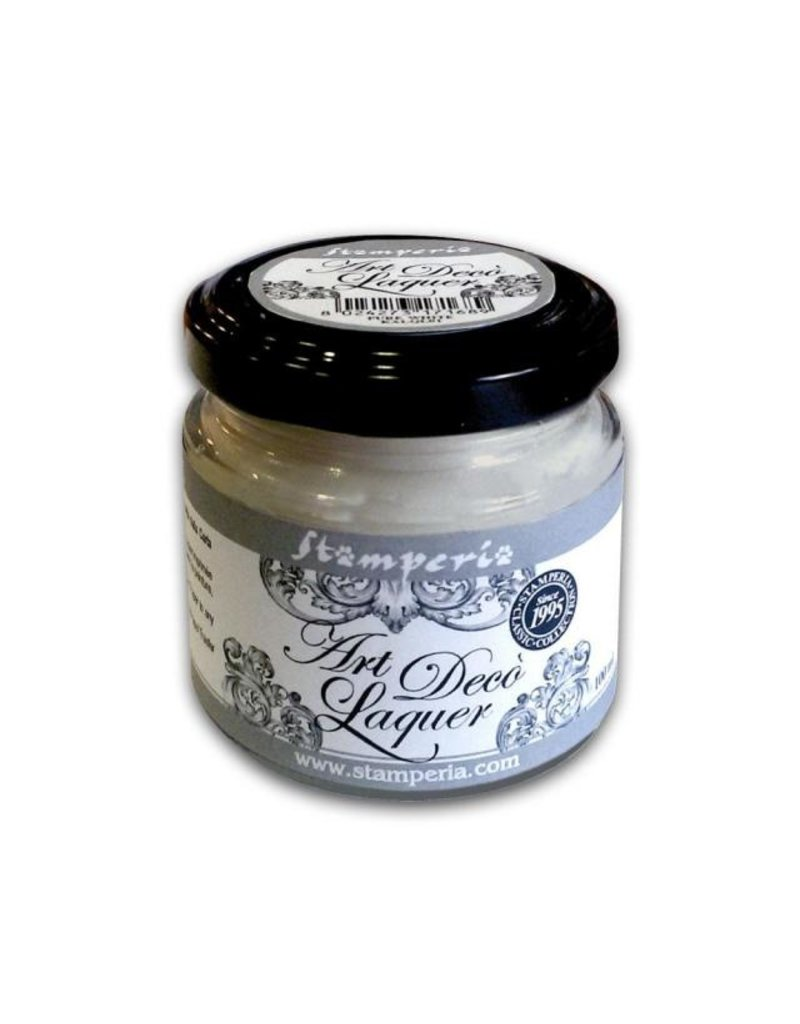 Stamperia Art Déco Laquer - acrylic enamel 100ml Light Grey
