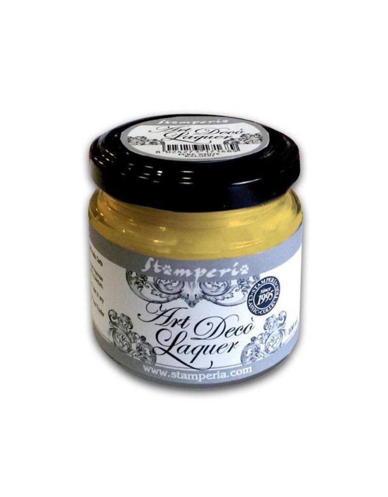 Stamperia Art Déco Laquer - acrylic enamel 100ml Cream