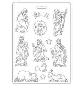 Stamperia Soft Mould A5 - nativity