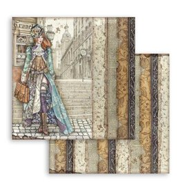 Stamperia Scrapbooking paper double face Lady Vagabond