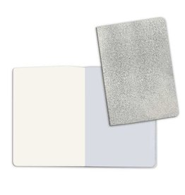 Stamperia A5 Notebook with Stone paper Silver