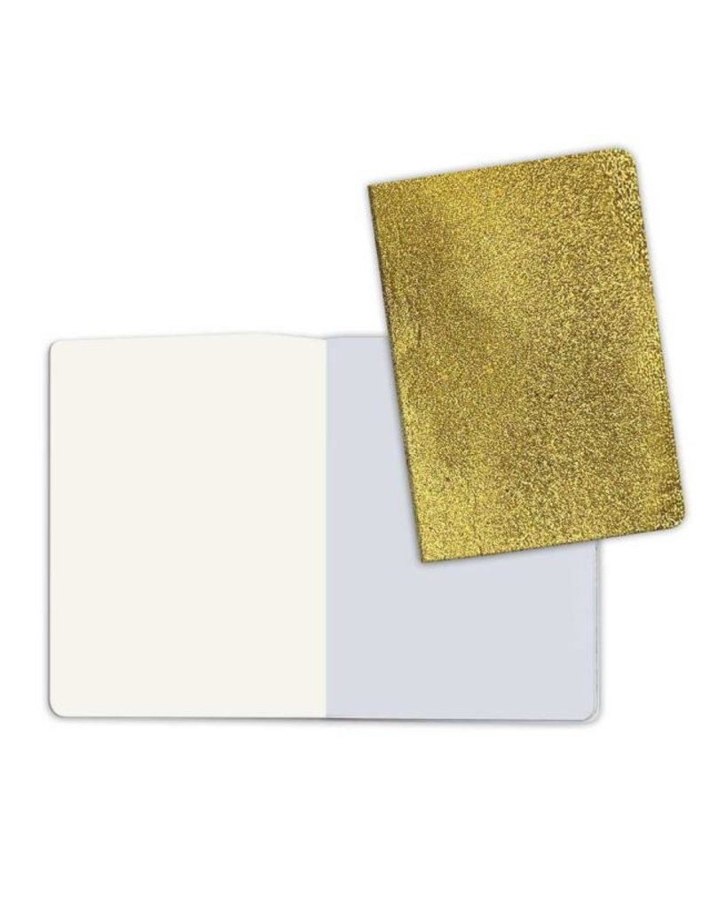Stamperia A5 Notebook with Stone paper Gold