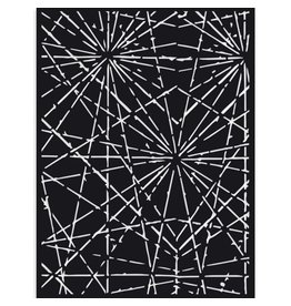 Stamperia Thick Stencil cm 15X20 Sir Vagabond cracks