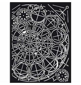 Stamperia Thick Stencil cm 15X20 Sir Vagabond geometry
