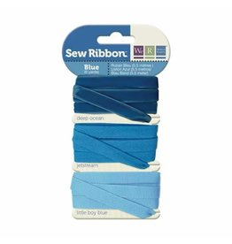 We R Memory Keepers We R Memory Keepers • Sew Ribbon ribbonset 5,5m Blue